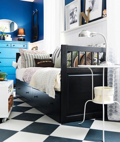 Schlafzimmerideen IKEA www.dekomilch.de