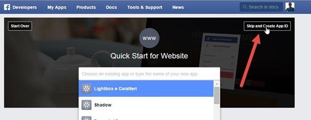 creare-app-facebook
