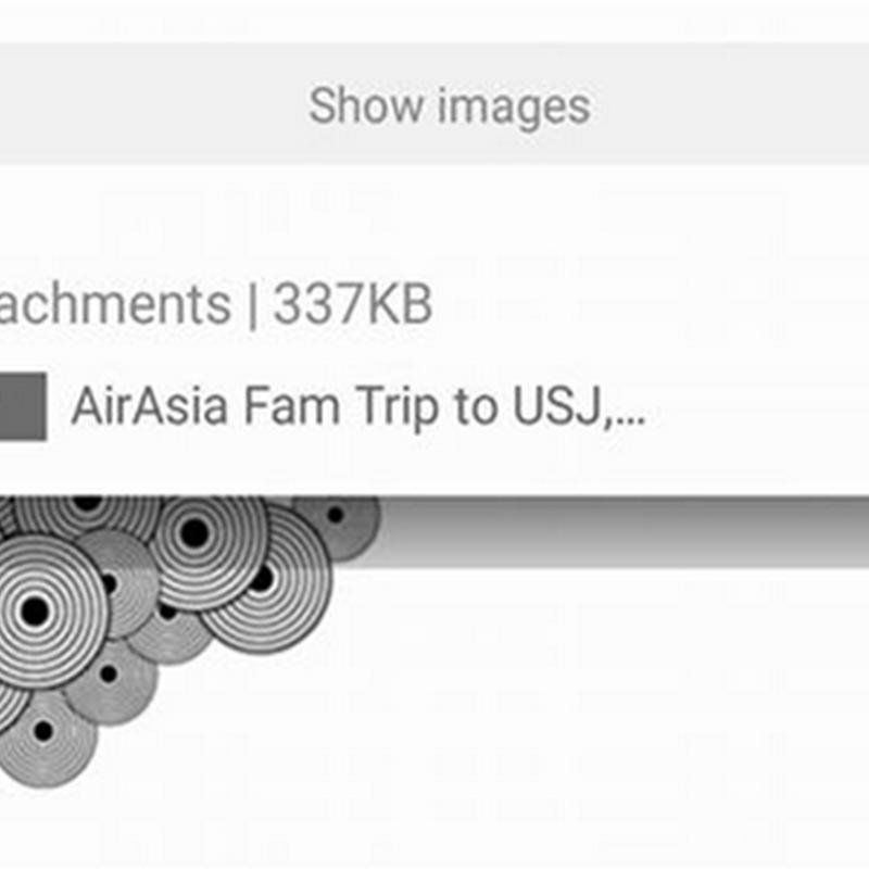 Bila dapat email dari AirAsia !