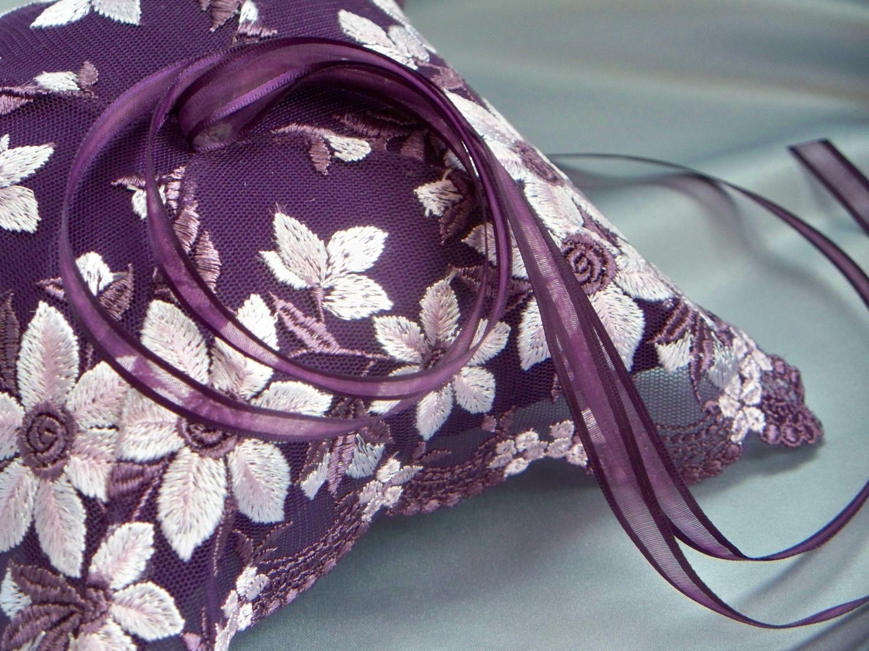 Petitie Dark Purple Silver