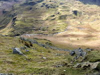 Looking down into Easedale