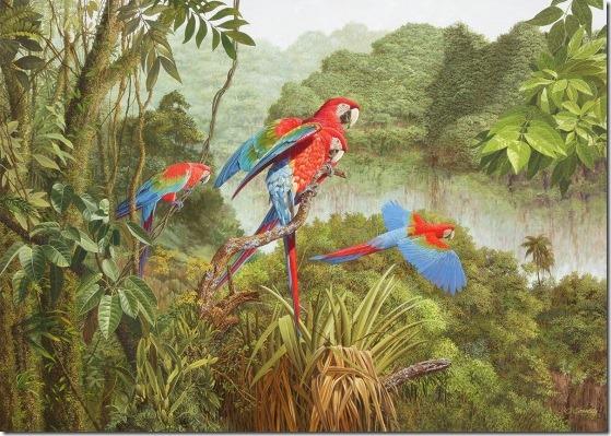 multicolores - Oscar Correa -ENKAUSTIKOS