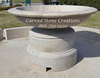 6' Urn-style Pedestal Fountain.  46 Diameter Pedestal x 72 Dia