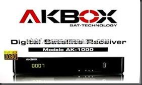 NOVA ATUALIZAÇÃO AKBOX AK-1000 V003