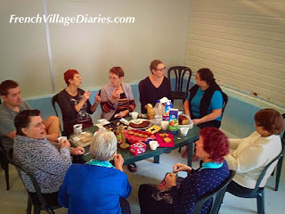 French Village Diaries advent calendar party time