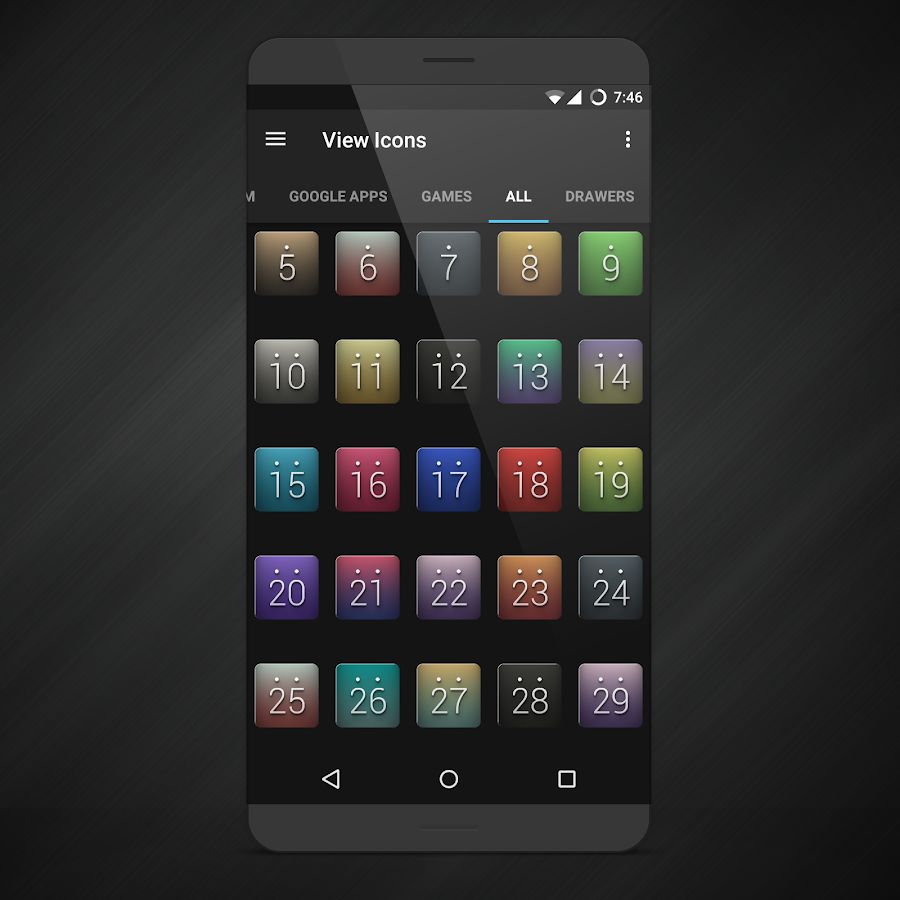 Orion UI Icon Pack Screenshot 4