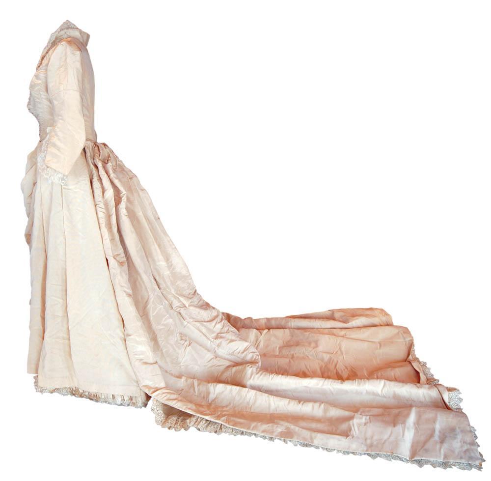 Hughes Wedding Dress, 1887