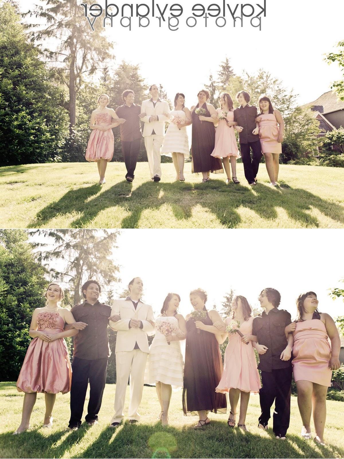 Wedding party 8 DIY Modern