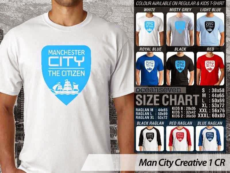 KAOS Man City Manchester City 12 Liga Premier Inggris distro ocean seven