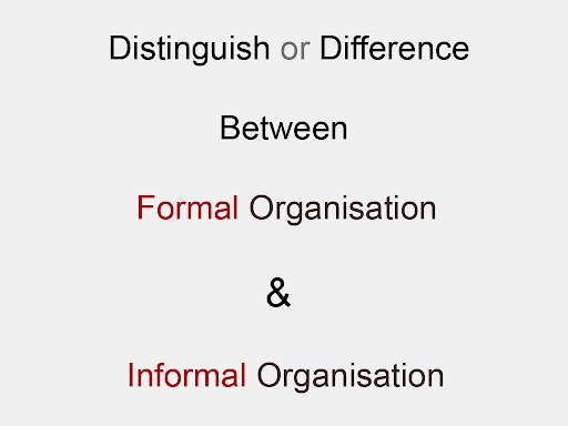 TYPES OF ORGANIZATION  Organization is a