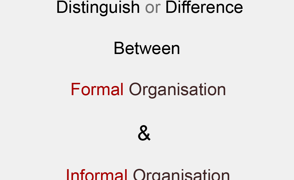 difference between a formal and informal essay