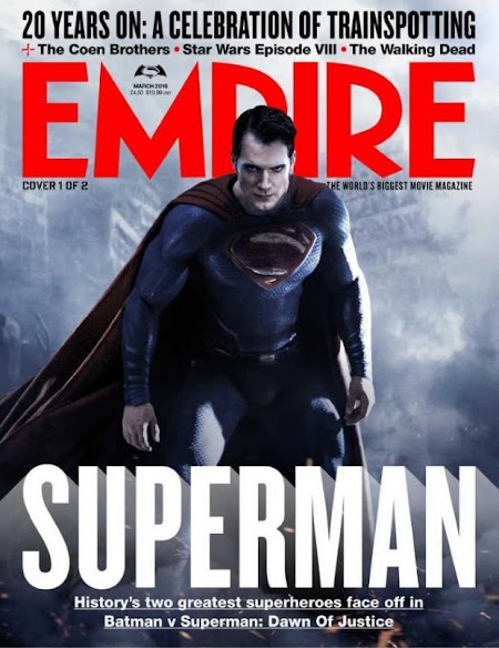 Portadas y fotos de Batman v Superman en Empire… y ¿Darkseid?