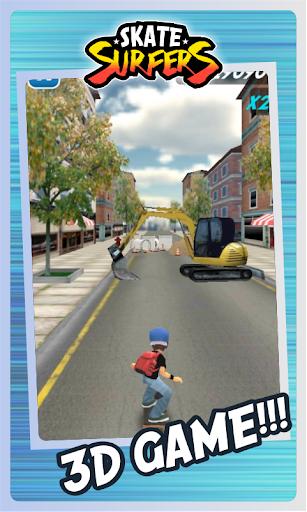 Skate Surfers Free screenshot 22