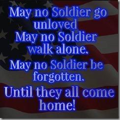 may no soldier
