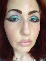 Wearing NYX Cosmetics Prismatic Eyeshadows Look 2_1