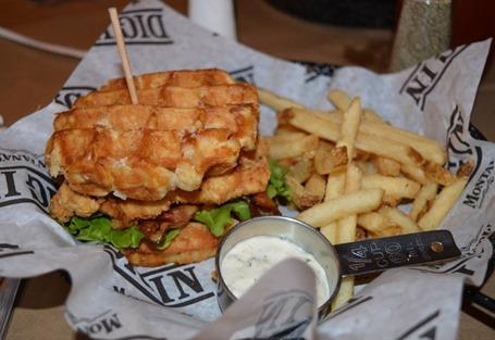 Waffle Chicken Club