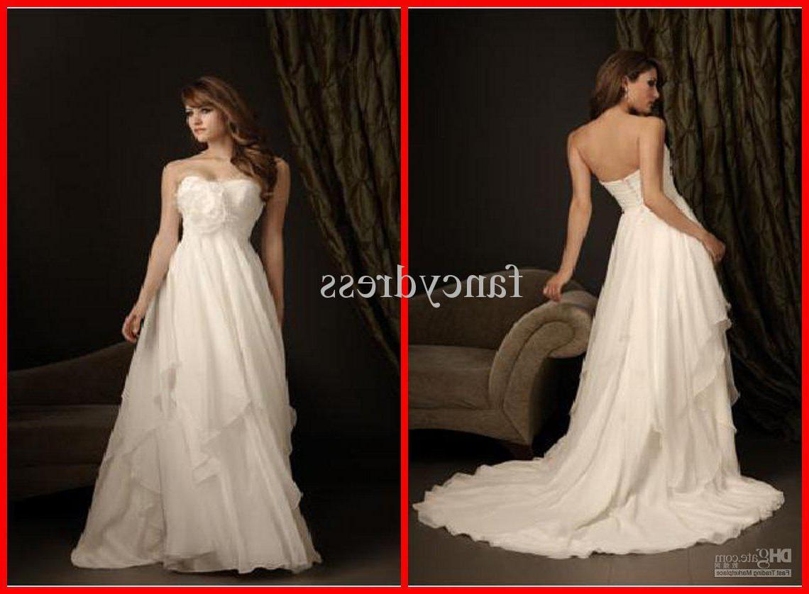 Wholesale - Strapless Layered Puffy Romantic New style White Floor-length