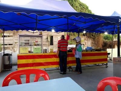 Kedai Zul & Rin Nasi Lemak Kukus, Kg Ketoyong.