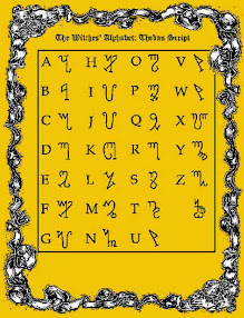 Cover of Nu Isis Working Group's Book Magical Scripts and Cipher Alphabets