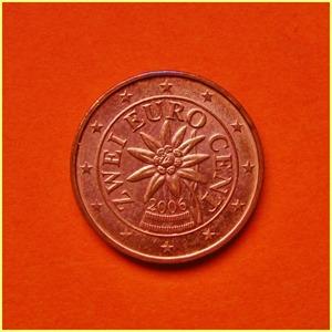 Austria 2 céntimos Euro