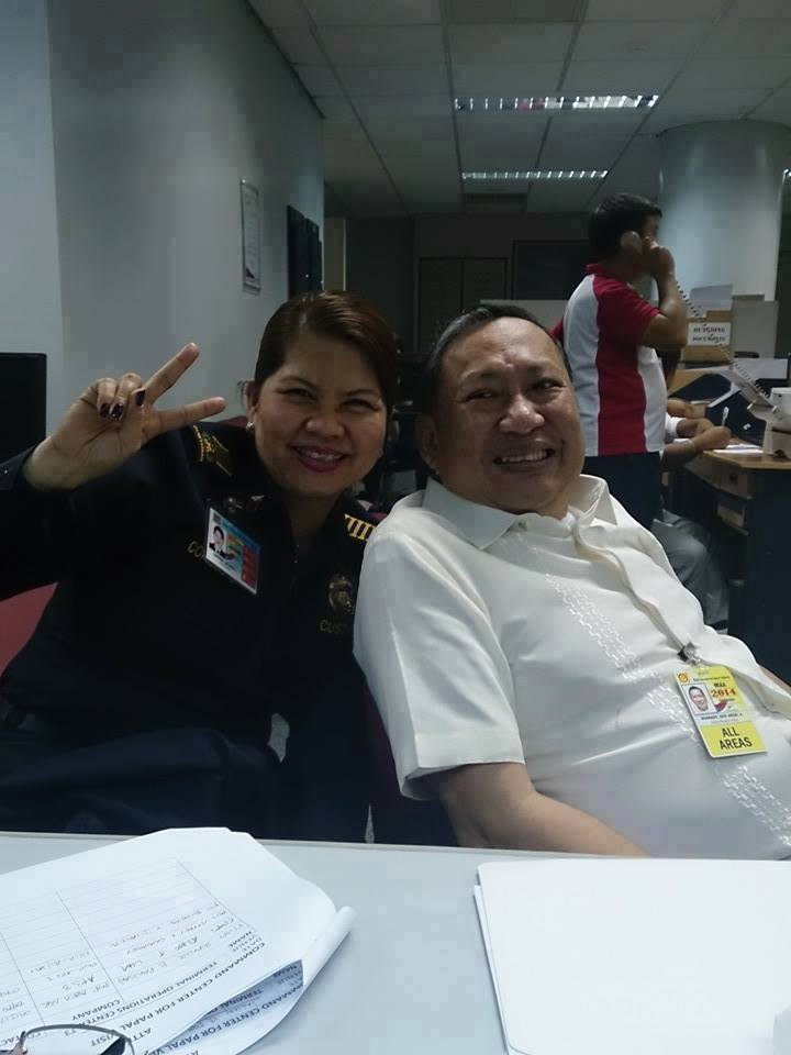 Image of Jose Angel Honrado, the Manila International Airport Authority General Manager (MIAA)