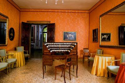 Inside Palazzo Mocenigo