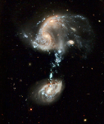 galáxias PGC 37639 e PGC 101374