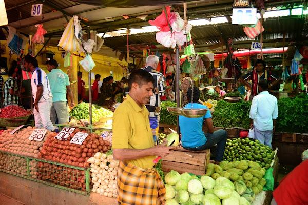 Овощной рынок, Канди