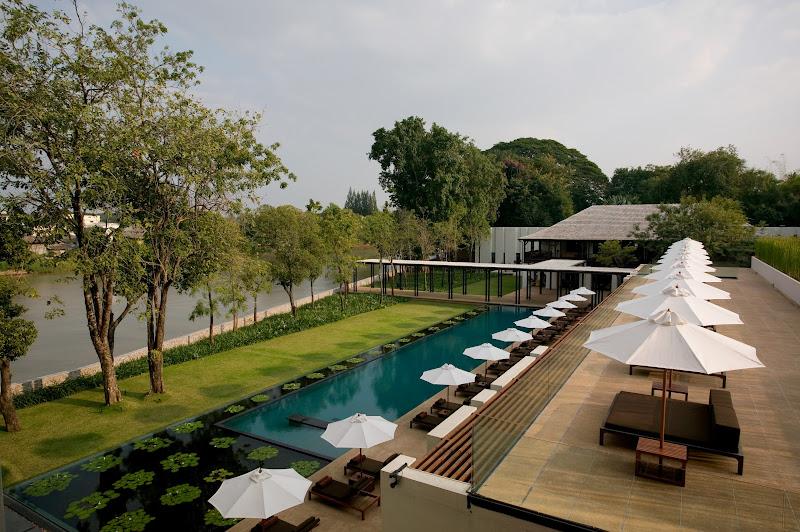 Thailande, hôtel Chedi
