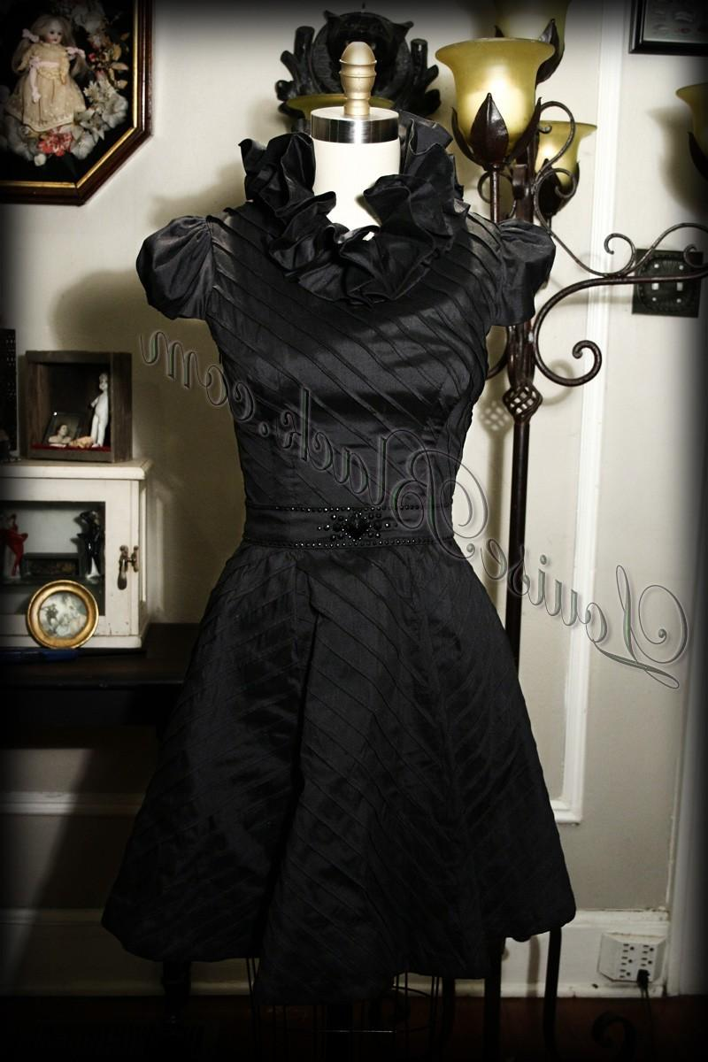 Little Black Wedding Dress
