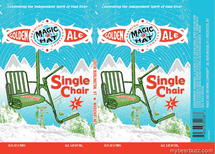 Hereu0027s a peek at the latest packaging for Magic Hat Single Chair. This golden ale will remain at 5%-AbV and this is the new 16oz can.  sc 1 st  mybeerbuzz.com & Magic Hat - Single Chair Returns In 16oz Cans - mybeerbuzz.com ...