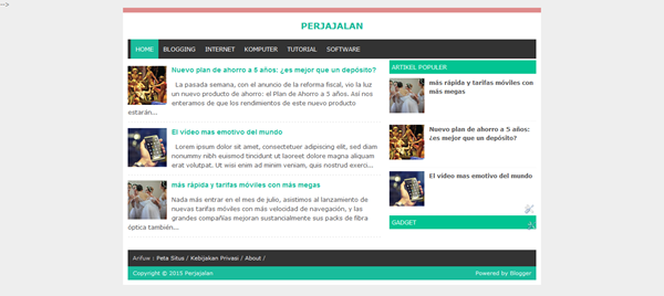 Cara Mengganti Background Blog Dengan Gambar Sendiri