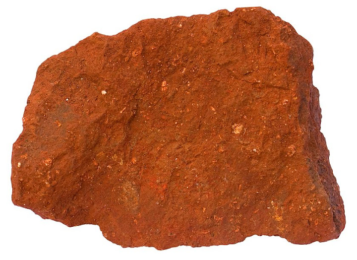 Laterite sedimentary rocks for Is soil a mineral
