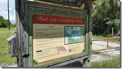 Buck Lake - Trailhead Kiosk Back
