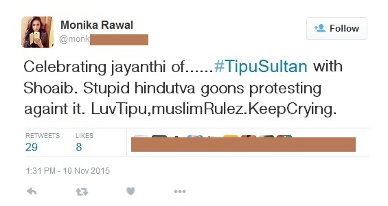 hindu girls support muslim