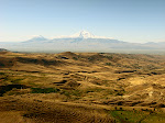 View of Mt. Ararat (in Turkey), from Armenia.