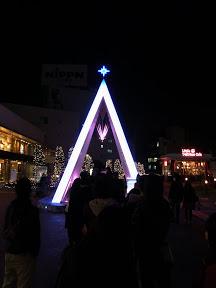 新宿サザンテラス広場のクリスマスイルミネーション2012