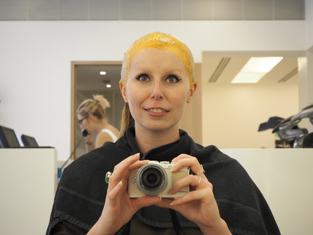 Getting a colour at John Frieda Mayfair
