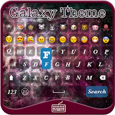 Galaxy iKeyboard Emoji Theme