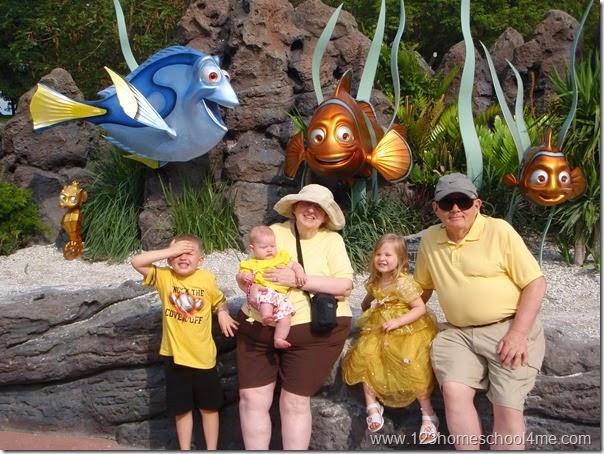 Finding Nemo Ride