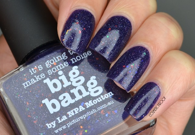 NAILS | Picture Polish ? Big Bang by La NPA Mouton Swatch