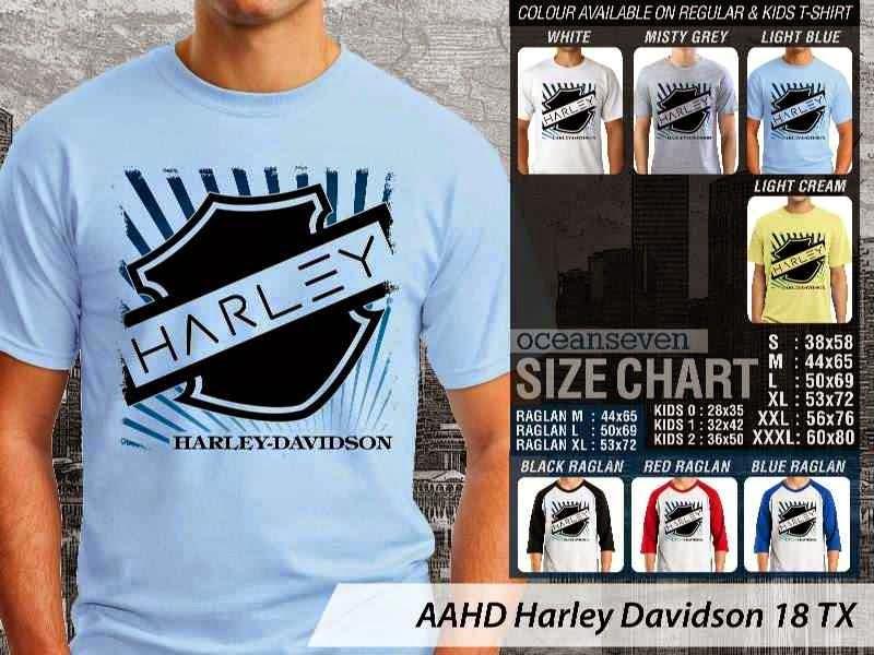 jual kaos harley davidson Motor 18