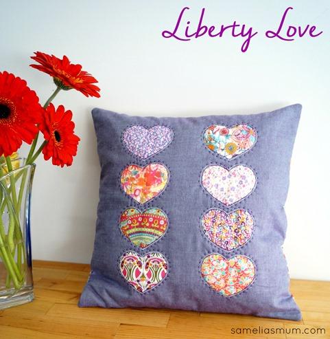 Liberty Love Cushion