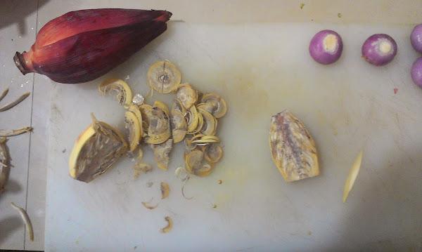 банана флавор, цветок банан, приготовление