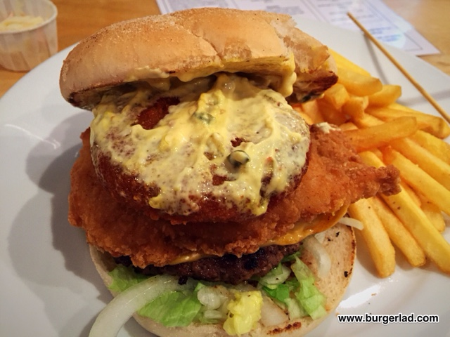 The Courtyard Wigan, The Orwell Burger