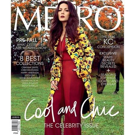 KC Concepcion for Metro July 2015