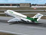 Ozark DC-9 rotate