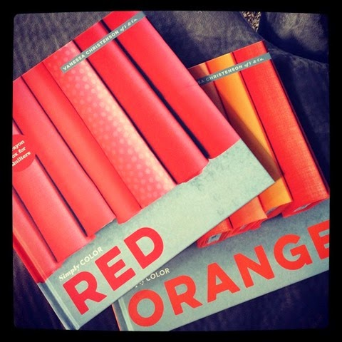 simply color Red and Orange