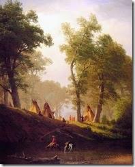 1 Albert Bierstadt (German-born American artist, 1830-1902) The Wolf River, Kansas