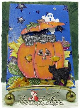 Pumpkin Peek 2015 ATC  c